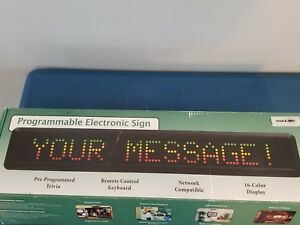 l k Pro lite Programmable Electronic Sign Motion Moving Sign Restaurant Bar