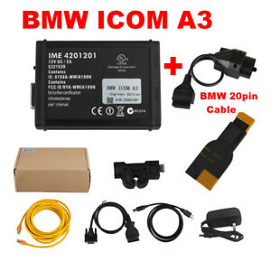 Bmw Icom A3 Professional Obd2 Diagnostic Scan Tool With Bmw 20pin Cable