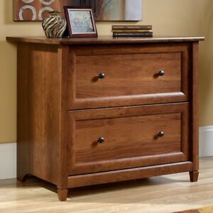 Cherry Mission Craftsman Shaker Lateral File Cabinet New