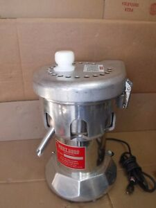 The Ruby 2000 Commercial Juicer 115v 3 4hp