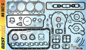 1953 1956 Buick Nailhead V8 264 322 56 59 Chevrolet Truck Full Engine Gasket Set