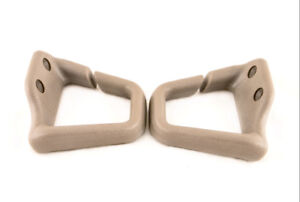 93 02 Camaro Firebird Convertible Neutral Tan Seat Belt Shoulder Guides