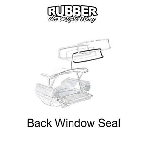 1958 Edsel Wagon Back Window Seal