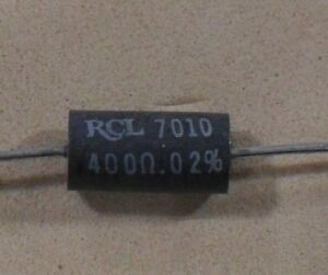 Ultra Precision Wire Wound Resistors To 0 02 Tolerance New Rcl