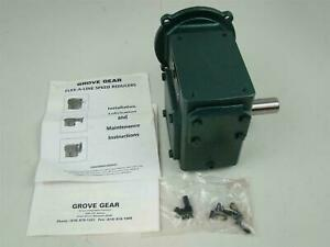 Grove Gear Speed Reducer 540224 L1 2 1750rpm Ratio 10 1