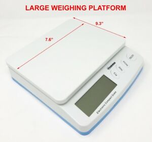 Digital Shipping Scale Postal Scale 66 Lbs Capacity W Ac Adapter