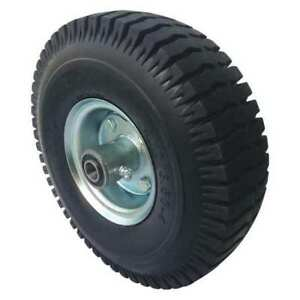 Solid Rubber Wheel 10 In Dia 440 Lb Marastar 16v341