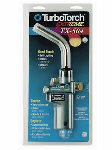 Turbotorch Tx504 Self Lighting Extreme Hand Torch 0386 1293