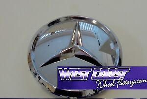 Mercedes Benz Chrome Pop In Wheel Rim Replacement Cover Cap Part 10272