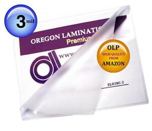 Qty 200 Large Menu Laminating Pouches 12 X 18 Hot 3 Mil Laminator Sleeves