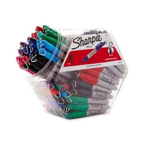 Sharpie Mini Permanent Markers Fine Point Assorted Colors 72 count Canister
