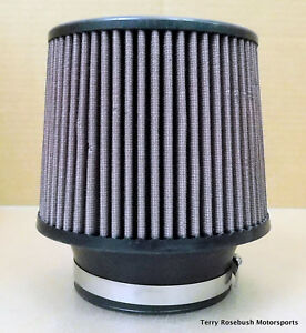 Spectra Cone Air Cleaner 6 1 2 Dia 7 0 Tall 4 0 Id Washable Element