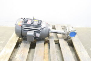 New Gusher 11032ns b Vertical Discharge Pump 350gpm 20hp 3in X 3in Npt D587460