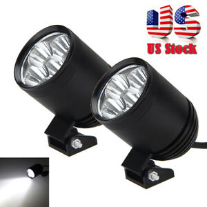 1 Pair 30w 4x Xm L2 Led Work Light Spot Lamp Driving Fog 12v Car Motorcycle Boat