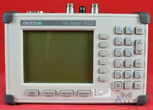 Anritsu S332d Site Master Cable And Antenna Analyzer