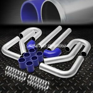 Universal 8pc 3 Aluminum Fmic Turbo Intercooler Piping elbow coupler Diy Kit
