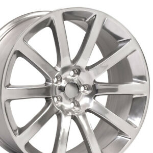 Oew Fits 20x9 Polished Wheel Chrysler 300 Charger Challenger 300 Srt Rims