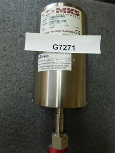 Mks Instruments 631a01tbeh Baratron Pressure Transducer Type 631