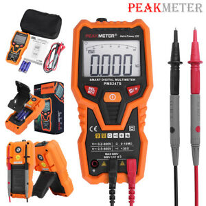 Peakmeter Pm8247s Auto Range Digital Multimeter Non contact Ncv Test Volt Meter