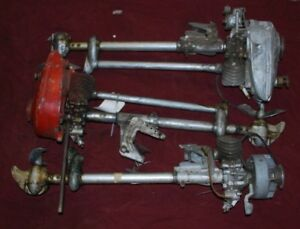 Lot Of 3 Vintage Air Cooled Boat Gas Engine Motor