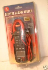 Se Digital Clamp Multi Meter Ac dc Lcd Display Ac Currant closeout