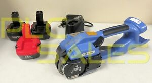 Orgapack Or t 200 1 2 Battery Operated Strapping Tool W 3 X 12v Batteries