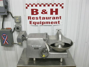Hobart Buffalo Chopper 14 Bowl Vegetable Meat Slicer W 12 Power Head 84145