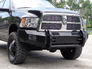 New Ranch Style Front Bumper 10 11 12 13 14 15 16 17 18 Dodge Ram 2500 3500