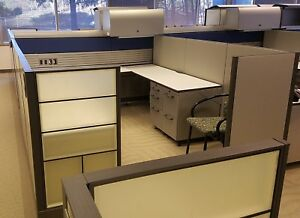 Used Office Cubicles Knoll Currents Cubicles 9x9 5