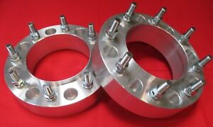 2 Ford Diesel 1999 2002 F250 350 Hub Centric Wheel Spacers Adapters Superduty