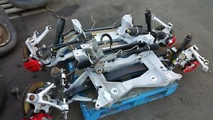 01 04 Corvette C5 Front And Rear Suspension Set With Subframe Pair Z06