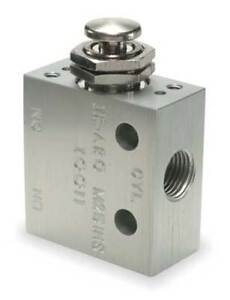 Manual Air Control Valve 3 way 1 8in Npt Aro M251hs
