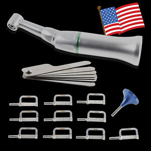 Usa Dental Contra Angle Handpiece 4 1 Reduction Interproximal Strippings Kit Ipr