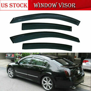 For Nissan Maxima 2004 2005 2006 2007 2008 Out Channel Window Visor Sun Guard