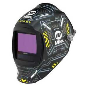 Miller Electric 280047 Auto Darkening Welding Helmet Black