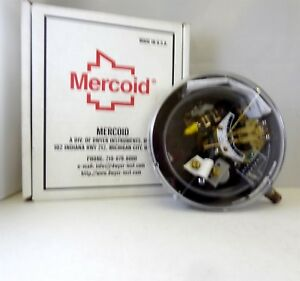 Dwyer Mercoid Series Steel Brass Bourdon Tube Pressure Switch Da 531 3 1