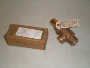 New Kunkle 200a d01 mg 0030 Valve 3 4 Npt Set 30 Psig Free Shipping