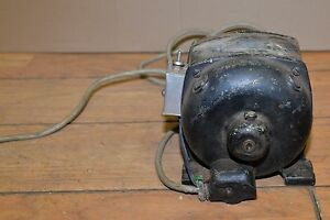 Antique Leland Repulsion Induction Lathe Table Saw Electric Motor Steampunk Tool