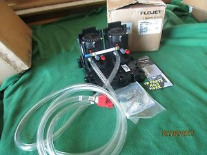New Coca Cola G55 Series Flojet Syrup Bib 2 Pumps G55102bm c02 Air Driven