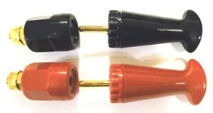 Superior Electric Supercon 25 amp 2 Mating Pairs Black Red unused Qty 2x2