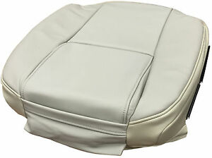 Volvo Xc90 Front Seat Bottom Cover Smooth Leather Upholstery Light Beige 3897643