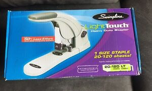 Swingline 90010 Lighttouch Heavy Duty Stapler 120 Sheet Capacity Metal Body