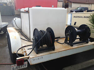 Ramteq Dv Series Steam Pressure Washer Trailer Mounted Heavy Duty Commercial