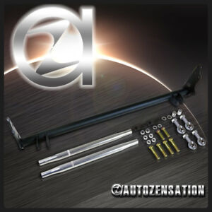 Fit 88 91 Civic Crx Front Adjustable Traction Control Suspension Tie Bar Kit