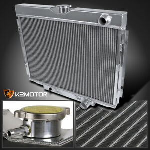 67 70 Ford Mustang V8 3 Core Mt 24 Passenger right Side Aluminum Radiator