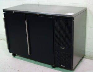 Used Perlick Ns52r 52 w Refrigerated Back Bar Cabinet Right Mount