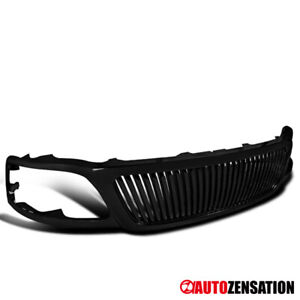 For 1999 2003 Ford F150 Expedition Black Vertical Style Front Hood Grill Grille