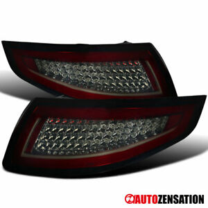 Red Smoke Led Tail Lights For Porsche 911 997 Carrera Targa Gt3 Gt2 Turbo 05 08