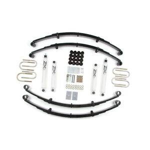 Zone Offroad 2 Suspension Lift Kit For 1987 1995 Jeep Wrangler Yj