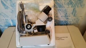 Amscope St 30 2l Lighted Stereo Microscope